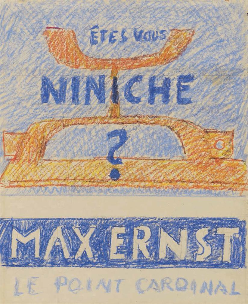 Max Ernst-Etes-Vous Niniche?-1961