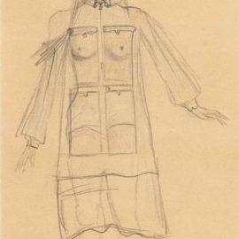 Salvador Dali-Etude Pour Jour Et Nuit Du Corps-1936
