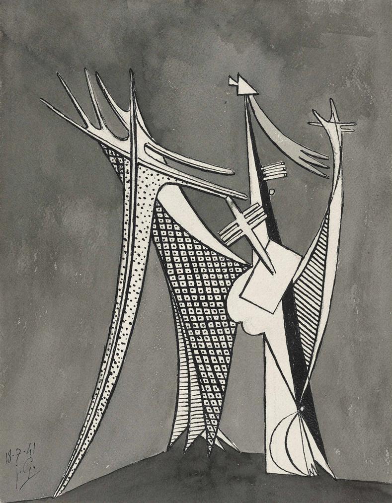 Julio Gonzalez-Abstrait-1941