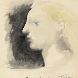 Pablo Picasso-Marie-Therese De Profil-1932