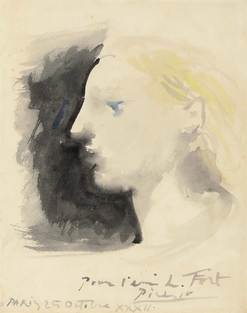 Pablo Picasso-Marie-Therese De Profil-1932