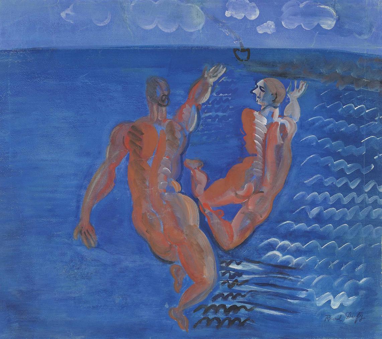 Raoul Dufy-Baigneuses-1925