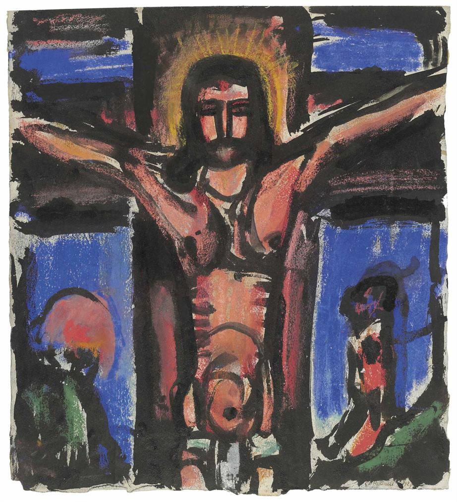 Georges Rouault-Crucifie-1929