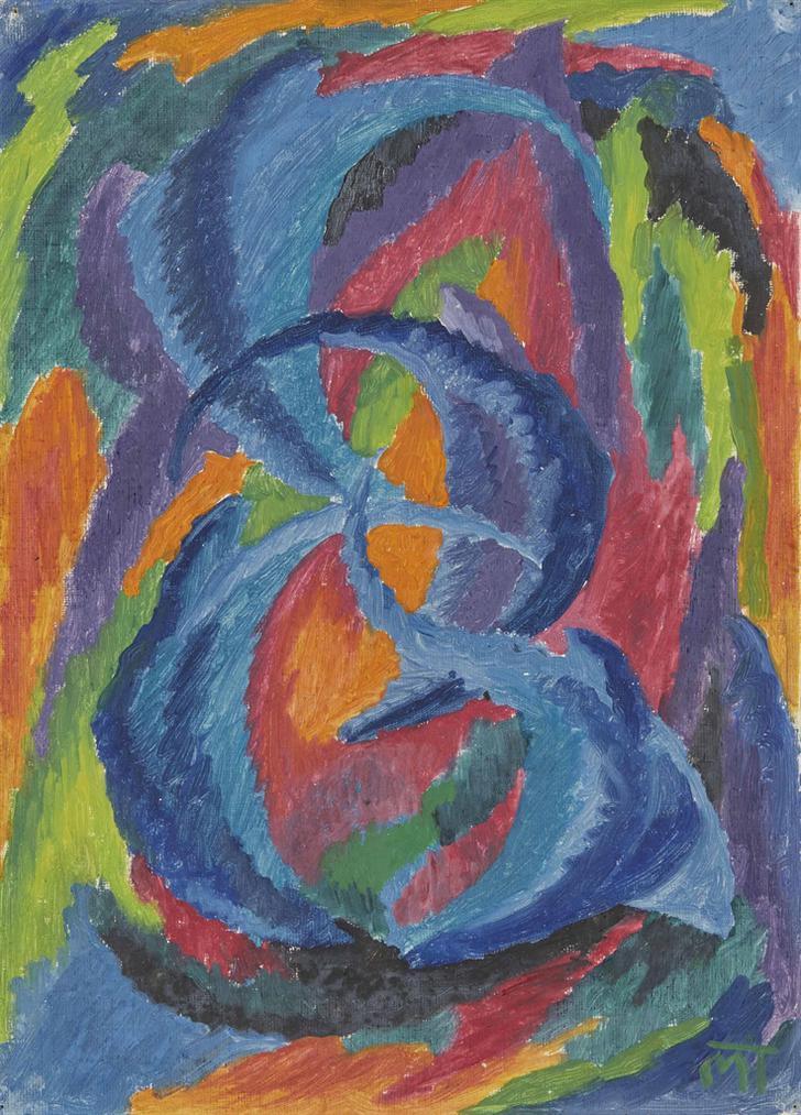 Janos Mattis-Teutsch - Seeleblume-1920