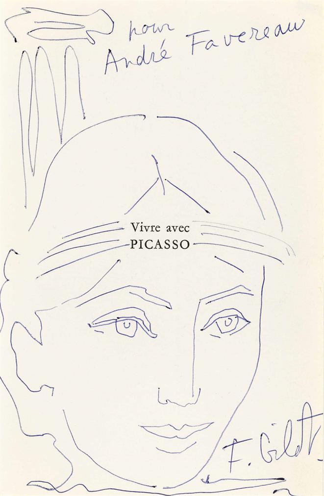 Francoise Gilot-Vivre Avec Picasso-1965