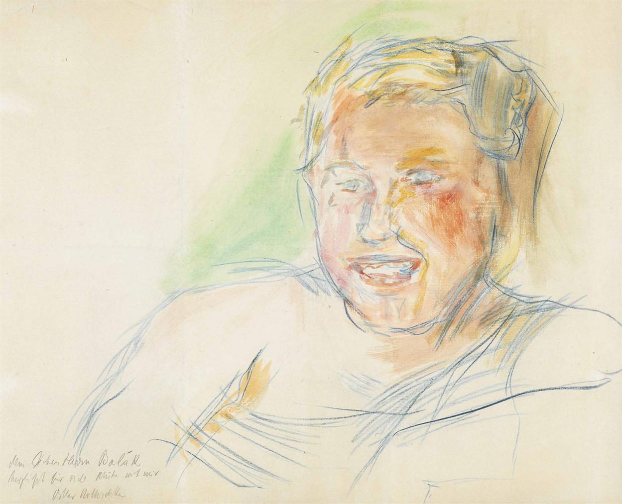 Oskar Kokoschka-Frauenportrat-1938