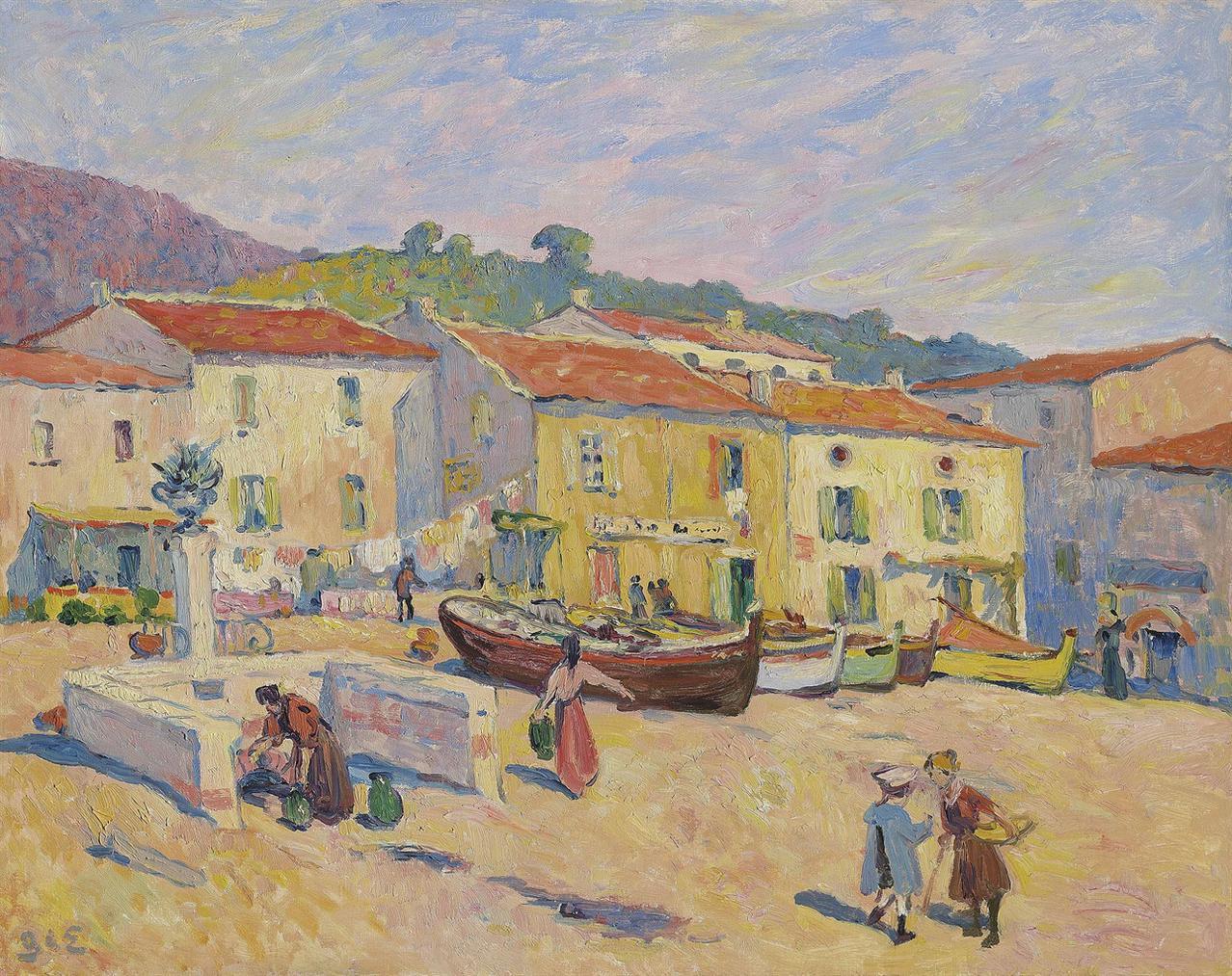 Georges d'Espagnat-Le Lavandou-1900