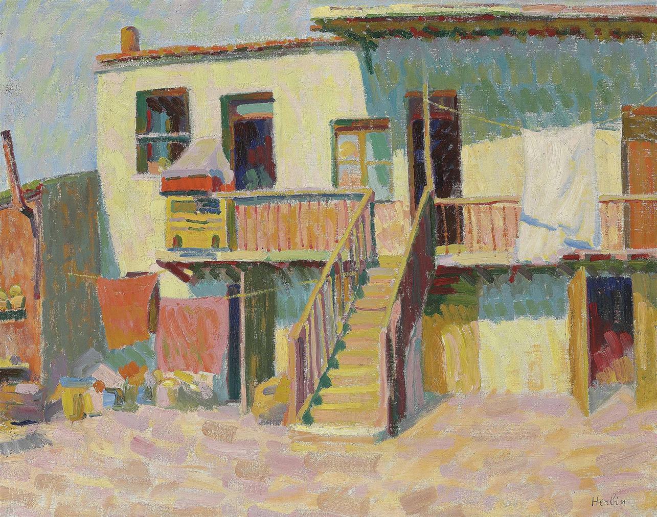 Auguste Herbin-La Maison, Corse-1907