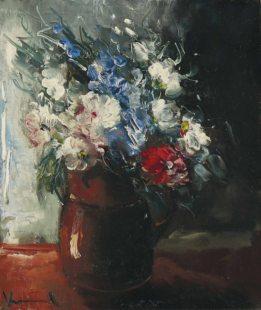 Maurice de Vlaminck-Bouquet De Fleurs-1950