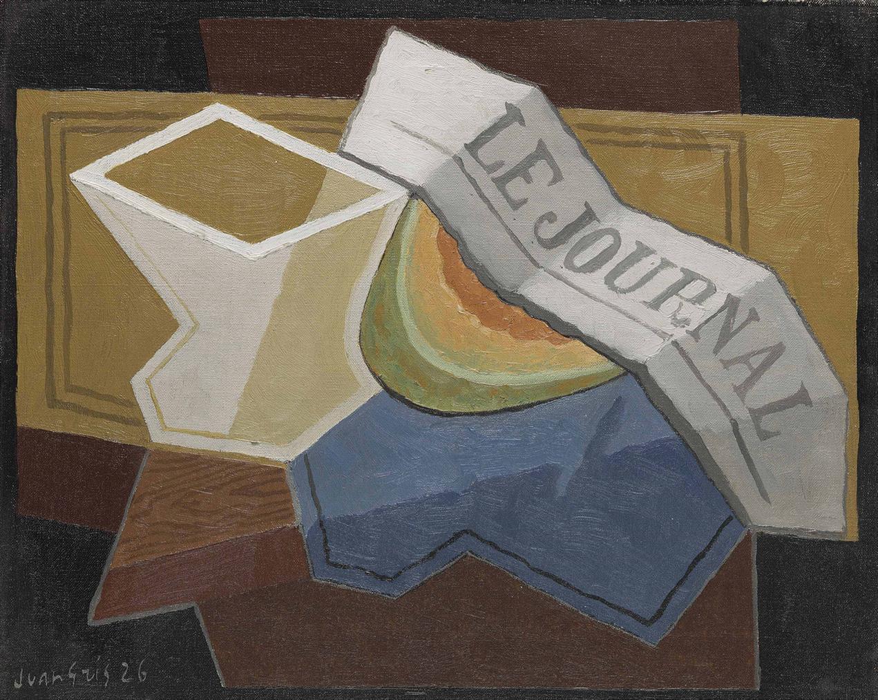Juan Gris-La Tranche De Melon-1926