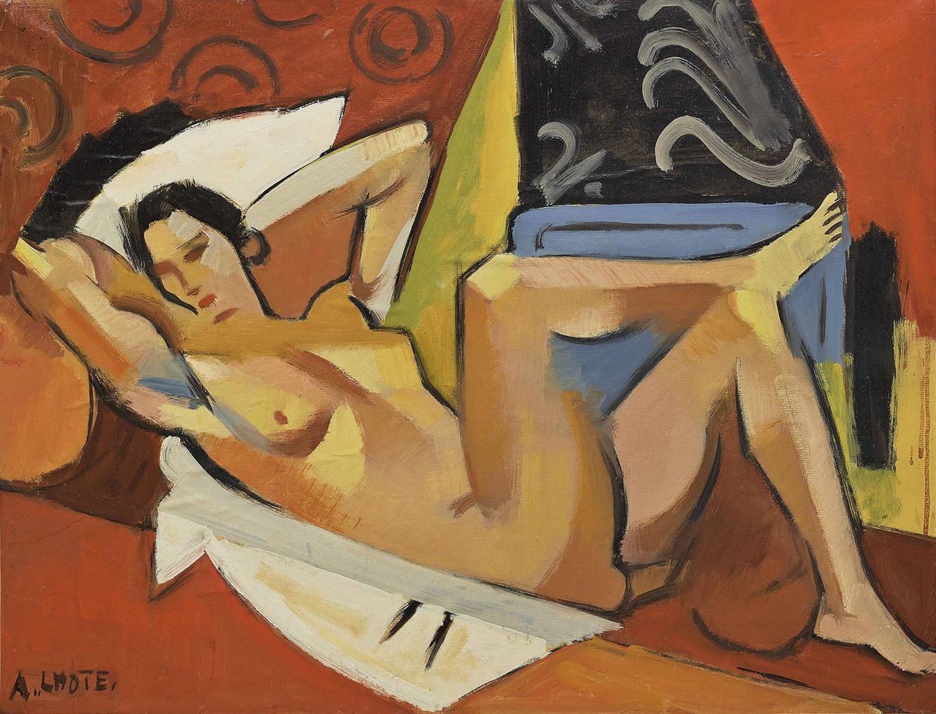 Andre Lhote-Nu Etendu-1934