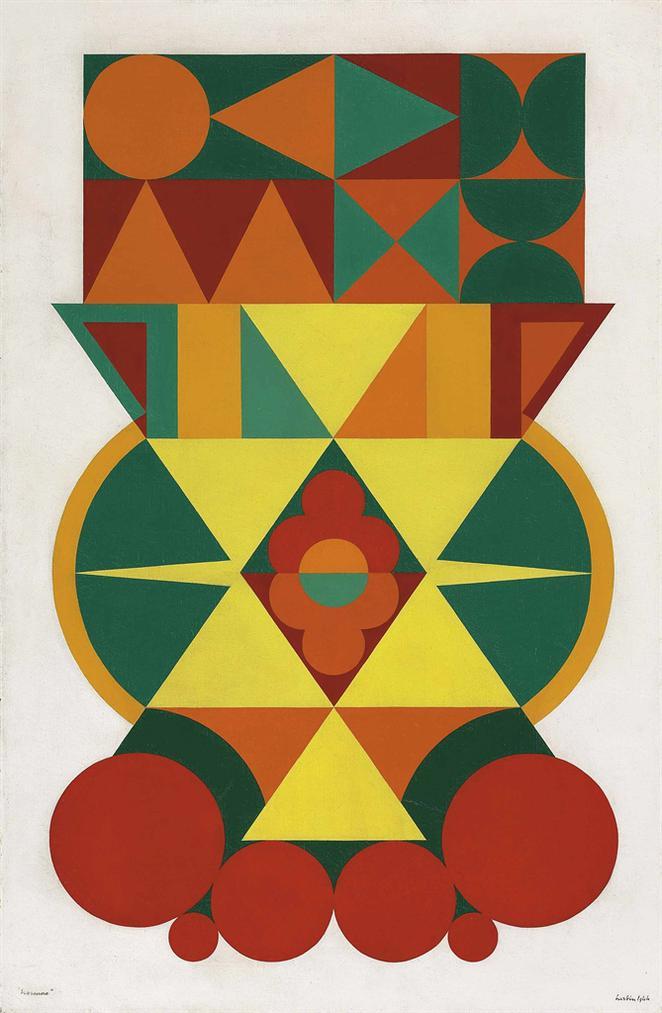 Auguste Herbin-Homme-1944