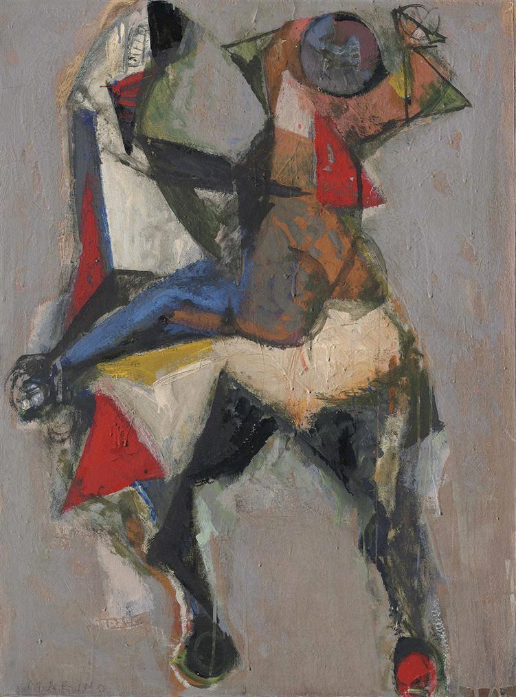 Marino Marini-Gioco Di Cavaliere-1954