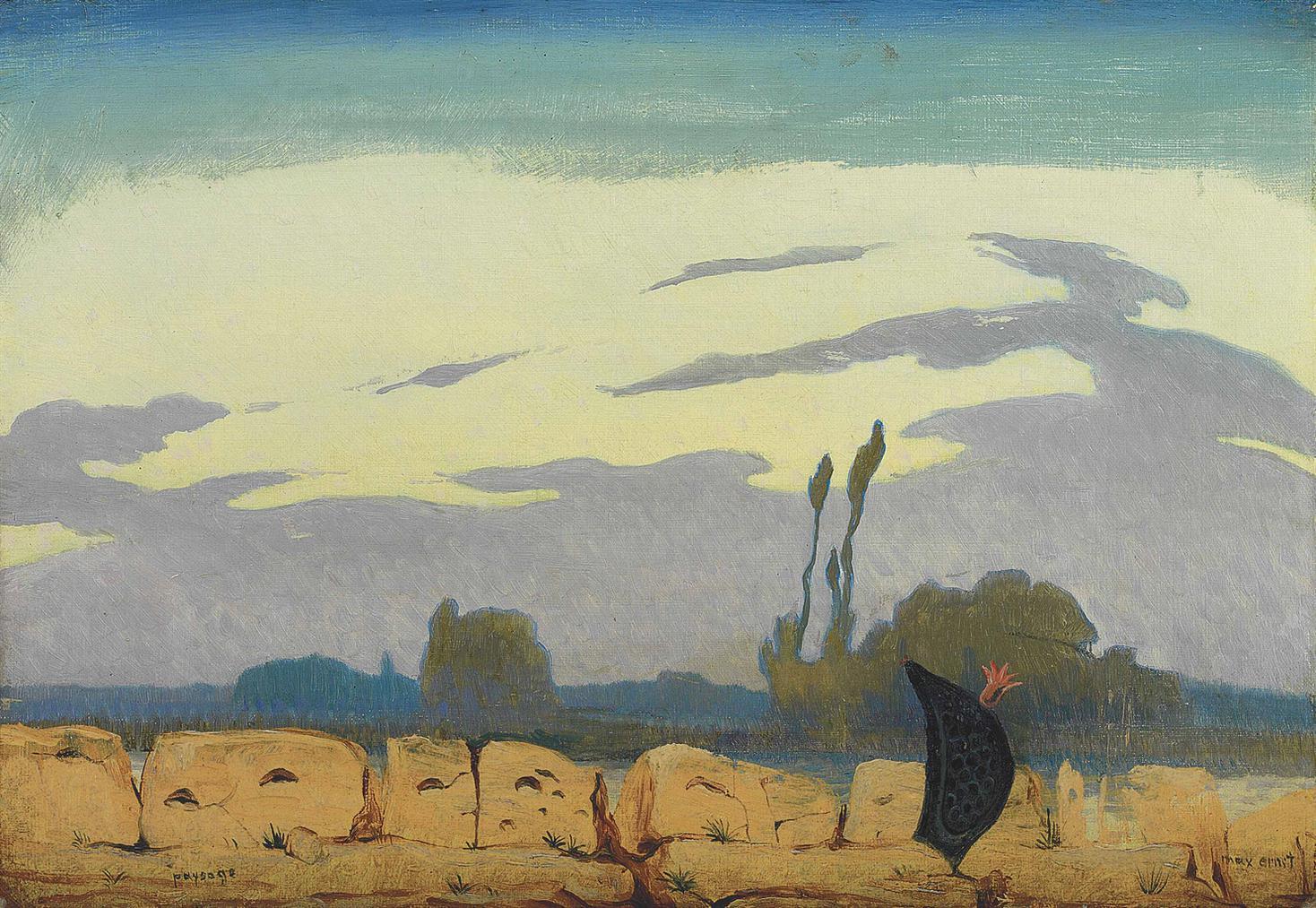 Max Ernst-Paysage-1923