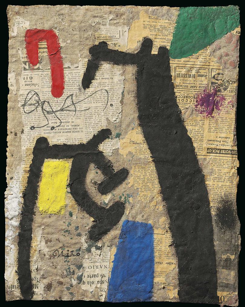 Joan Miro-Femmes, Oiseau II-1972