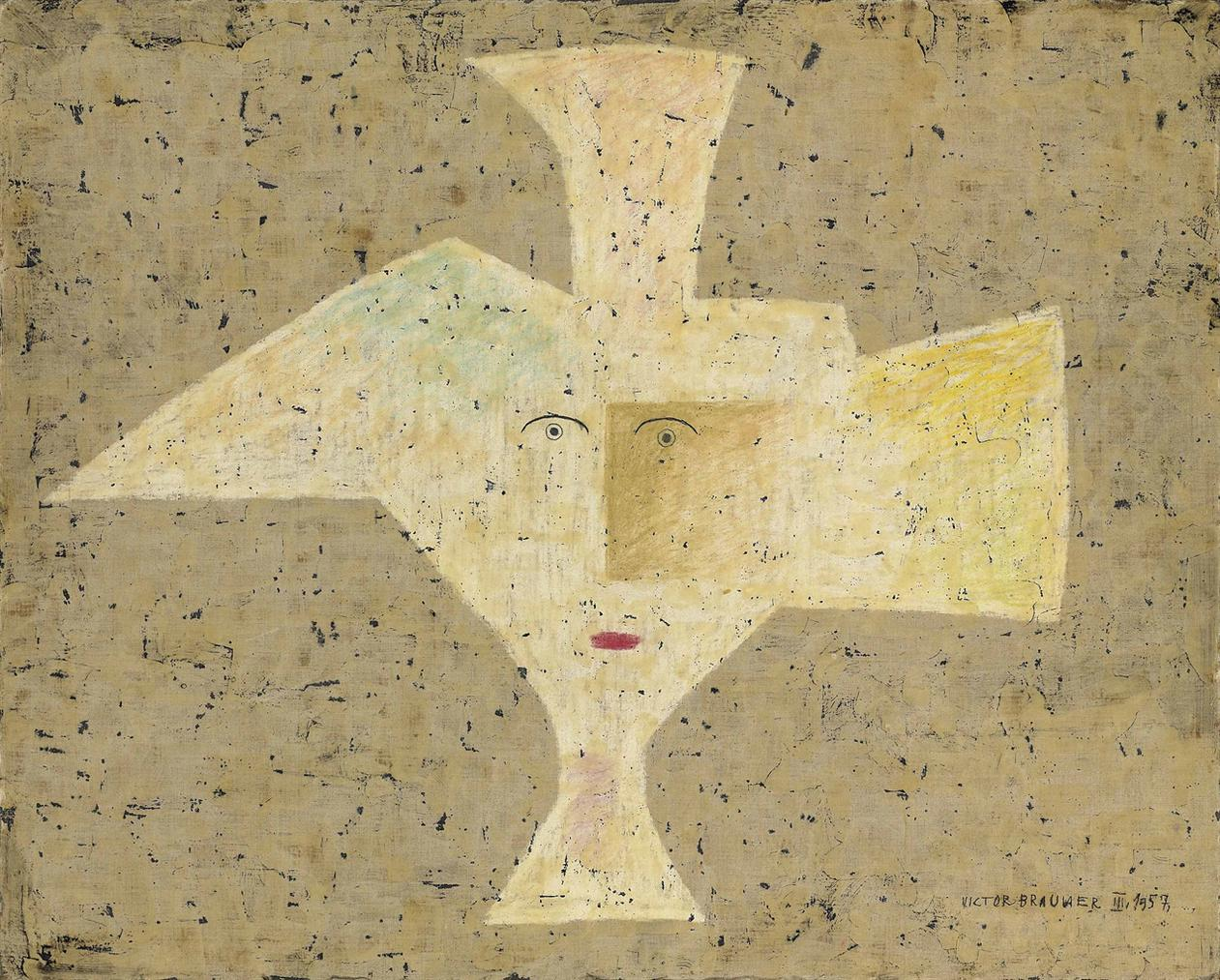 Victor Brauner-Object Subjectivite-1957