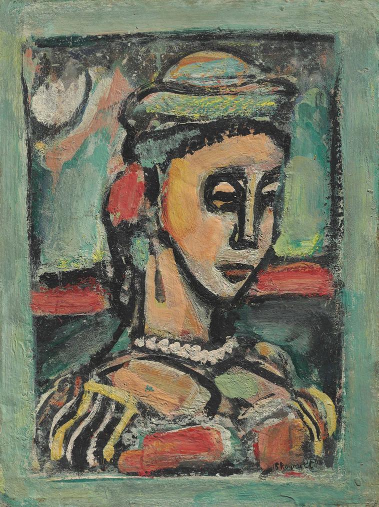 Georges Rouault-Buste De Femme-1939