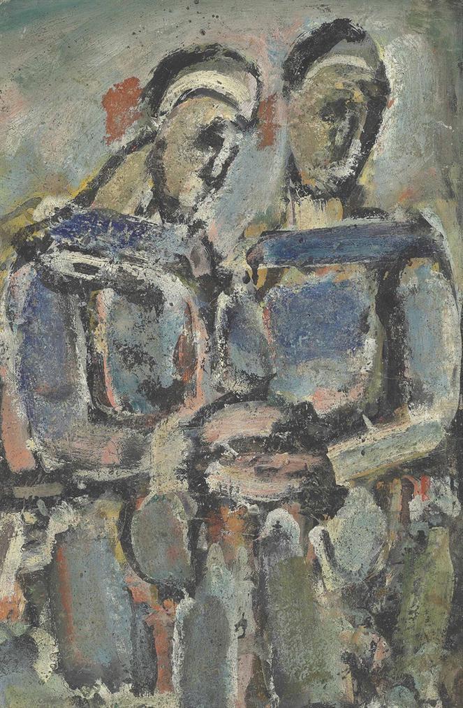 Georges Rouault-Pierrots-1940