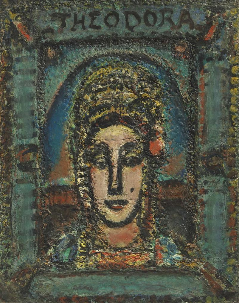 Georges Rouault-Theodora-1949