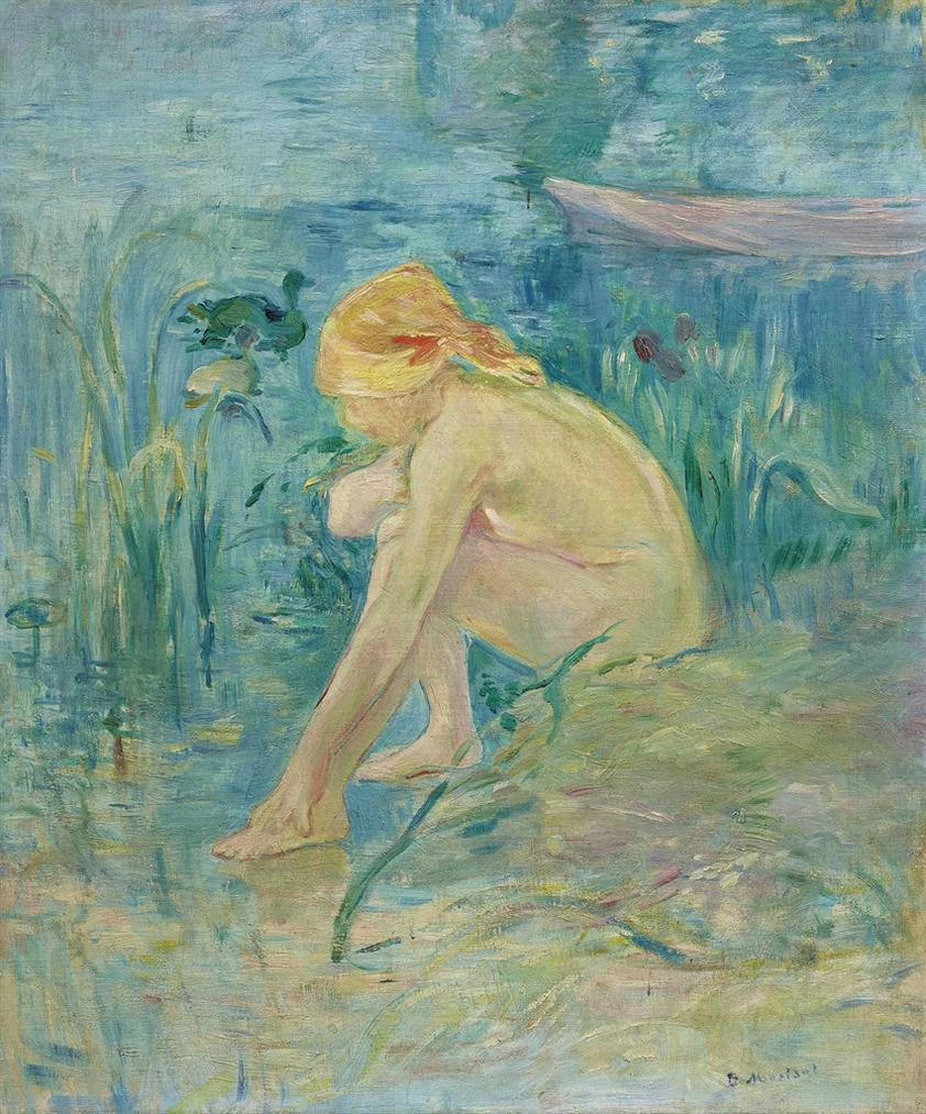Berthe Morisot-Baigneuse-1891