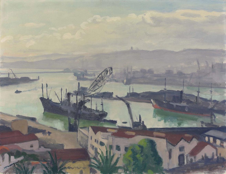 Albert Marquet-Le Port, Soleil Voile-1943