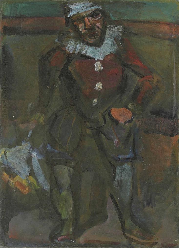 Georges Rouault-Pierrot-1909