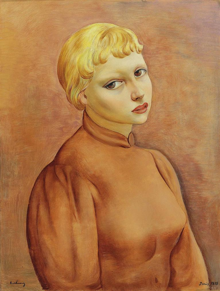 Moise Kisling-Sonia-1935