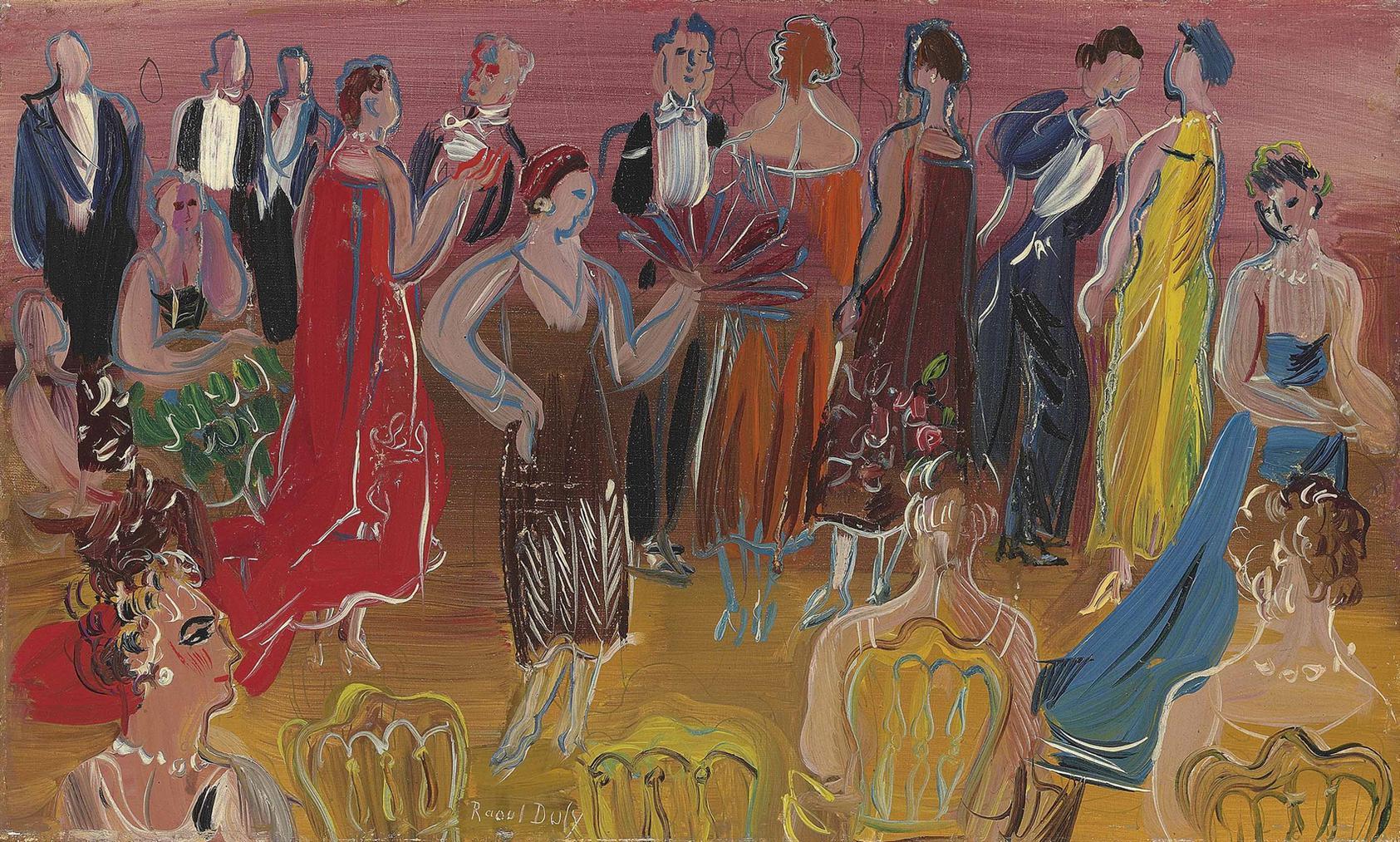 Raoul Dufy-Reception-1940