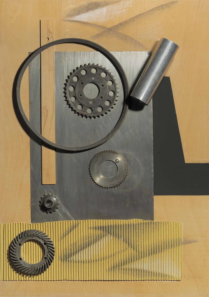 Gino Severini-Lage Industriel-1959