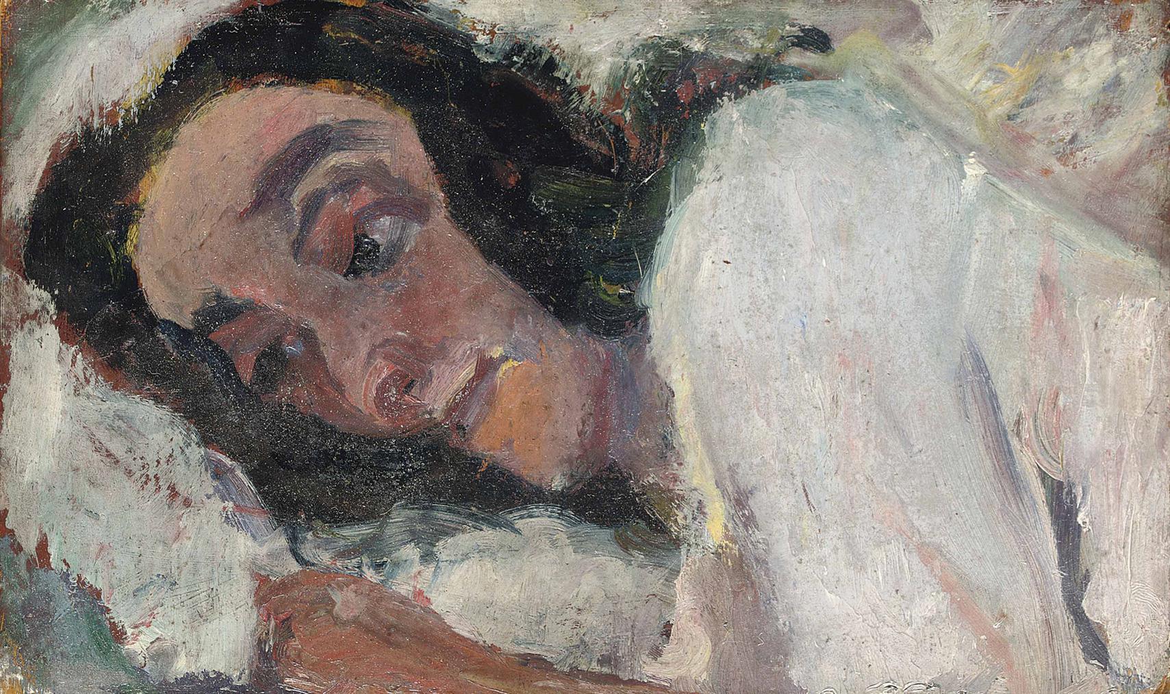 Chaim Soutine-Femme Couchee-1940