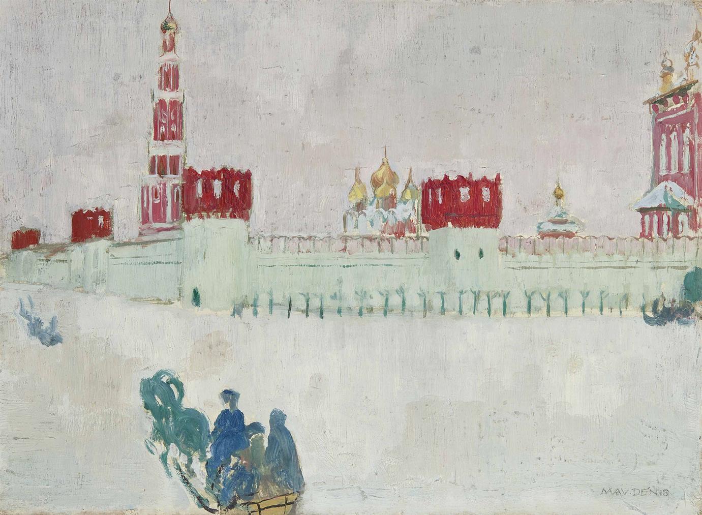 Maurice Denis-Couvent De Novodievitchi-1909