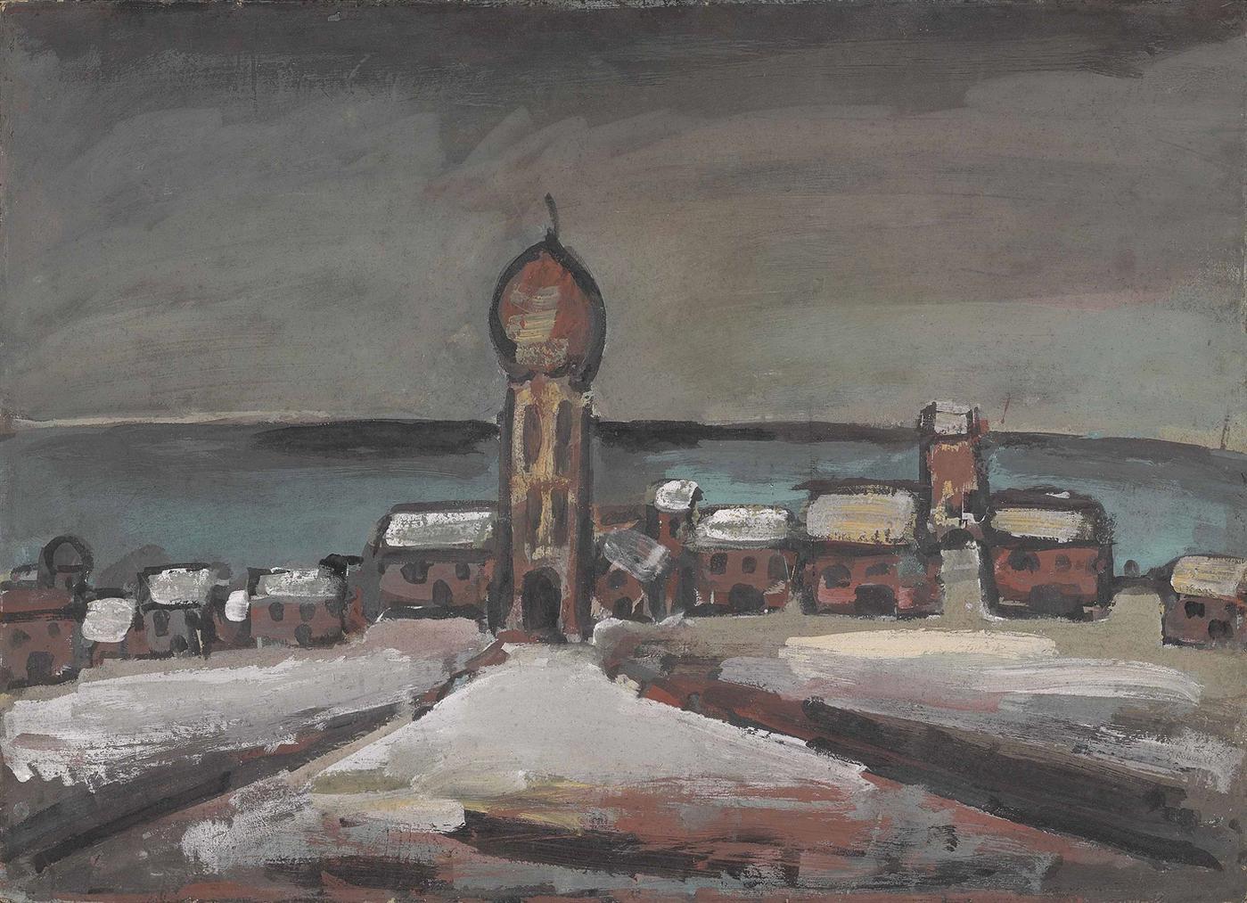 Georges Rouault-Le Palais Dubu Roi I-1916
