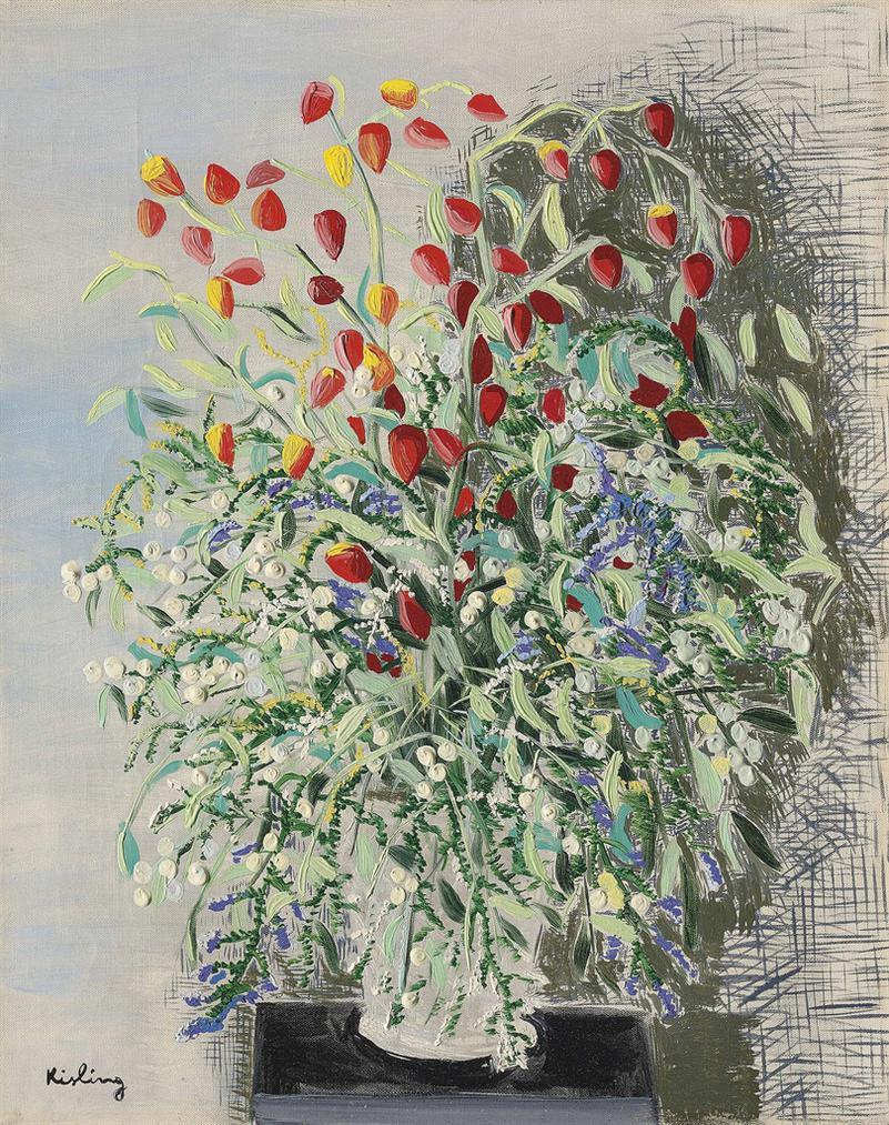 Moise Kisling-Fleurs-1939