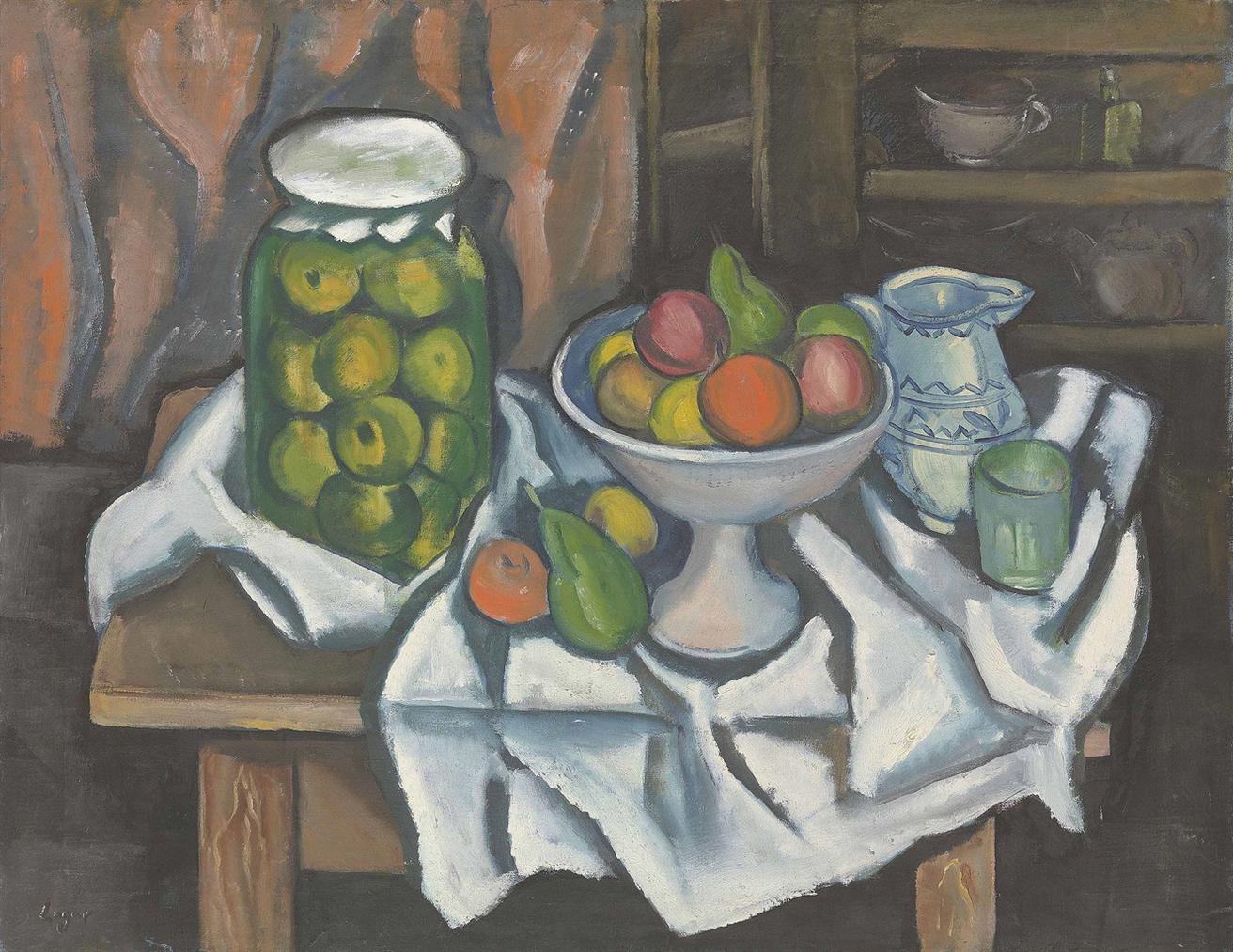 Celso Lagar-Fruits Sur Table-