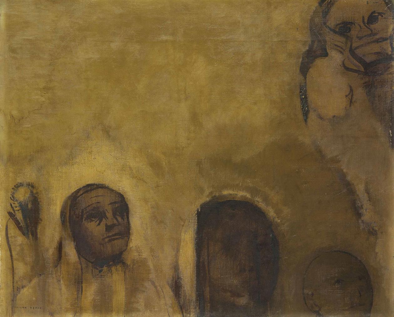 Odilon Redon-Figures Extatiques-1911