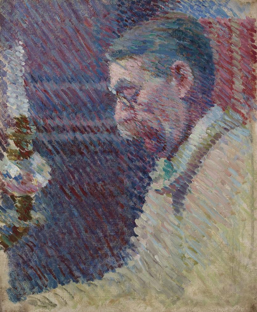 Louis Hayet-Emile Verhaeren-1896