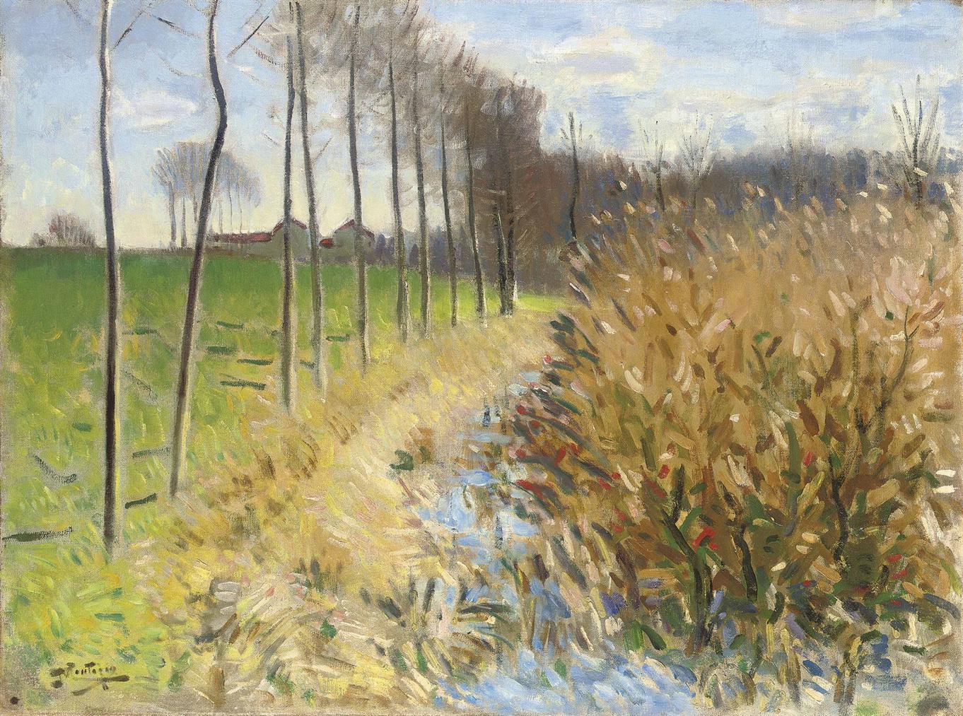 Pierre Eugene Montezin-Labreuvoir A Mizy Sur Yonne-