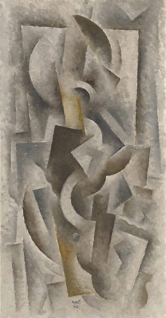 Robert Marc-Composition Cubiste-
