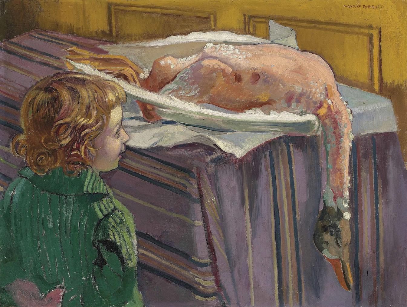 Maurice Denis-Lenfant A Loie-1919