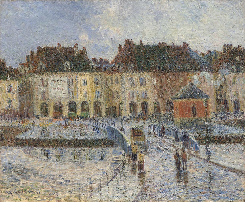 Gustave Loiseau-Le Port De La Poissonerie, Dieppe-1903
