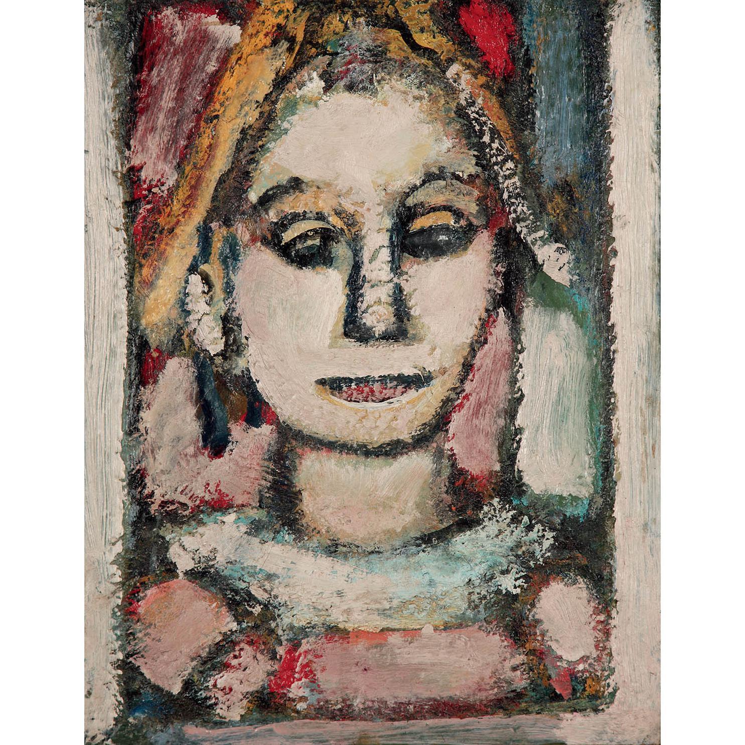 Georges Rouault-Arlequin, Harmonie Rose-1952