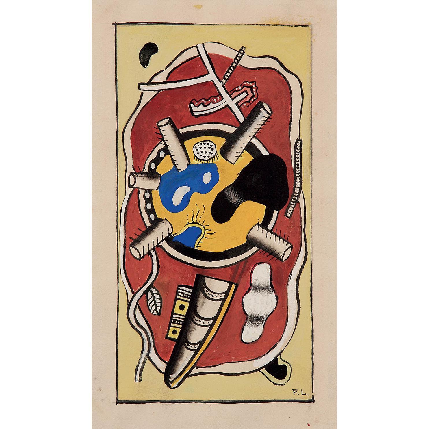 Fernand Leger-Sans Titre-1940