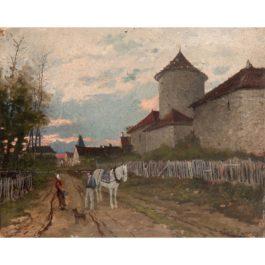 Henri Rousseau-Scene Champetre Pres Dun Manoir