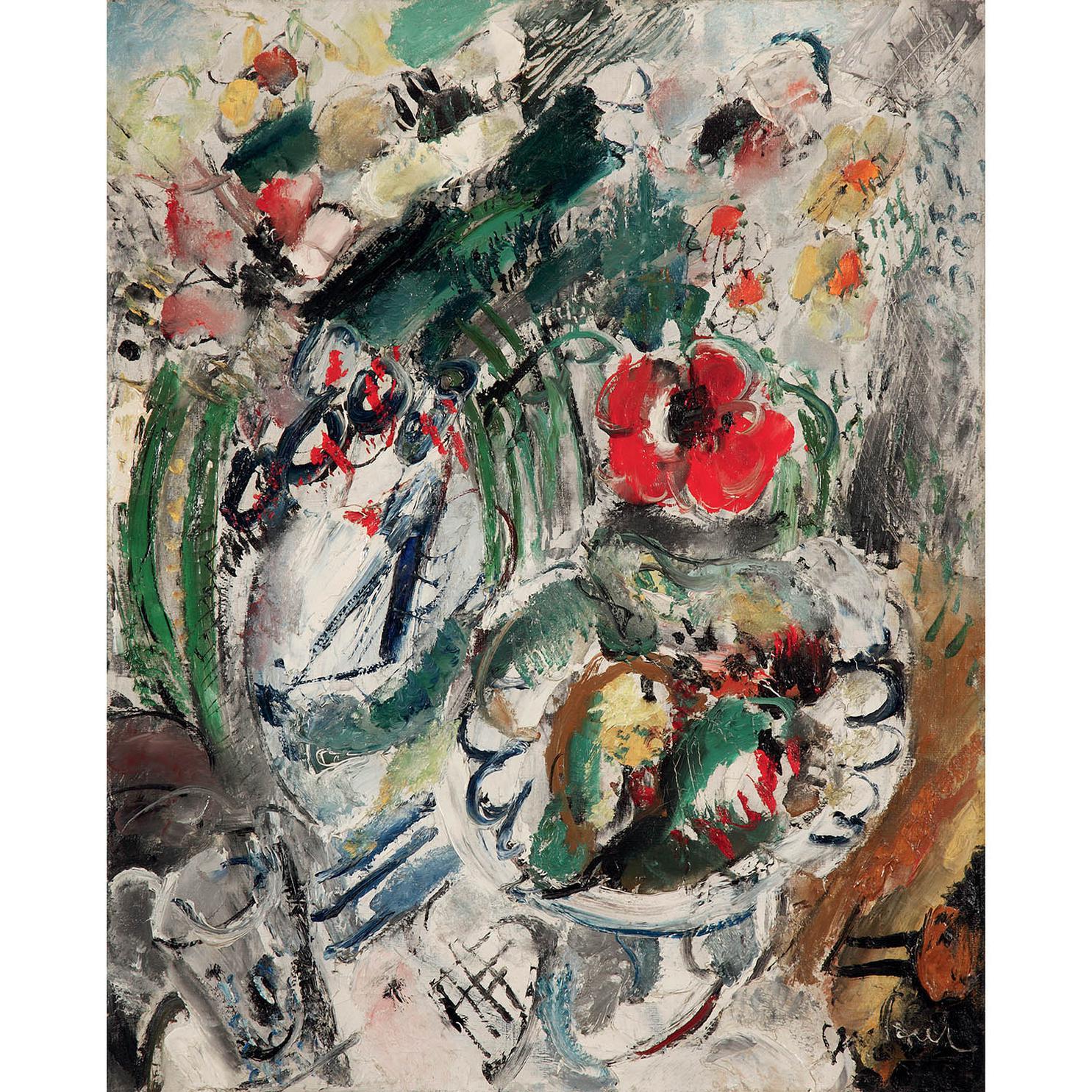 Gen Paul-Fleurs Et Fruits-1927