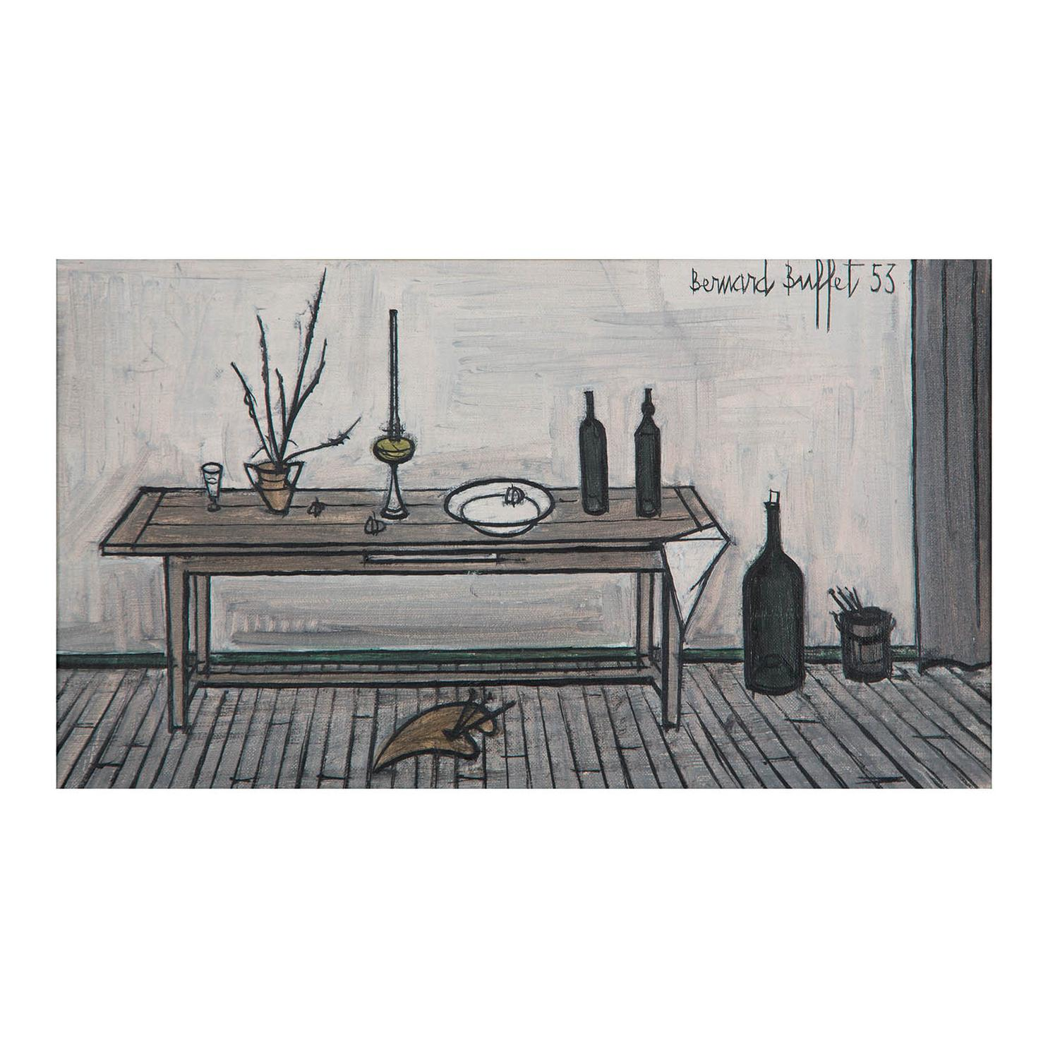 Bernard Buffet-Interieur Provencal-1953