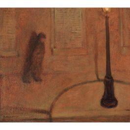 Felix Vallotton-Le Reverbere-1895