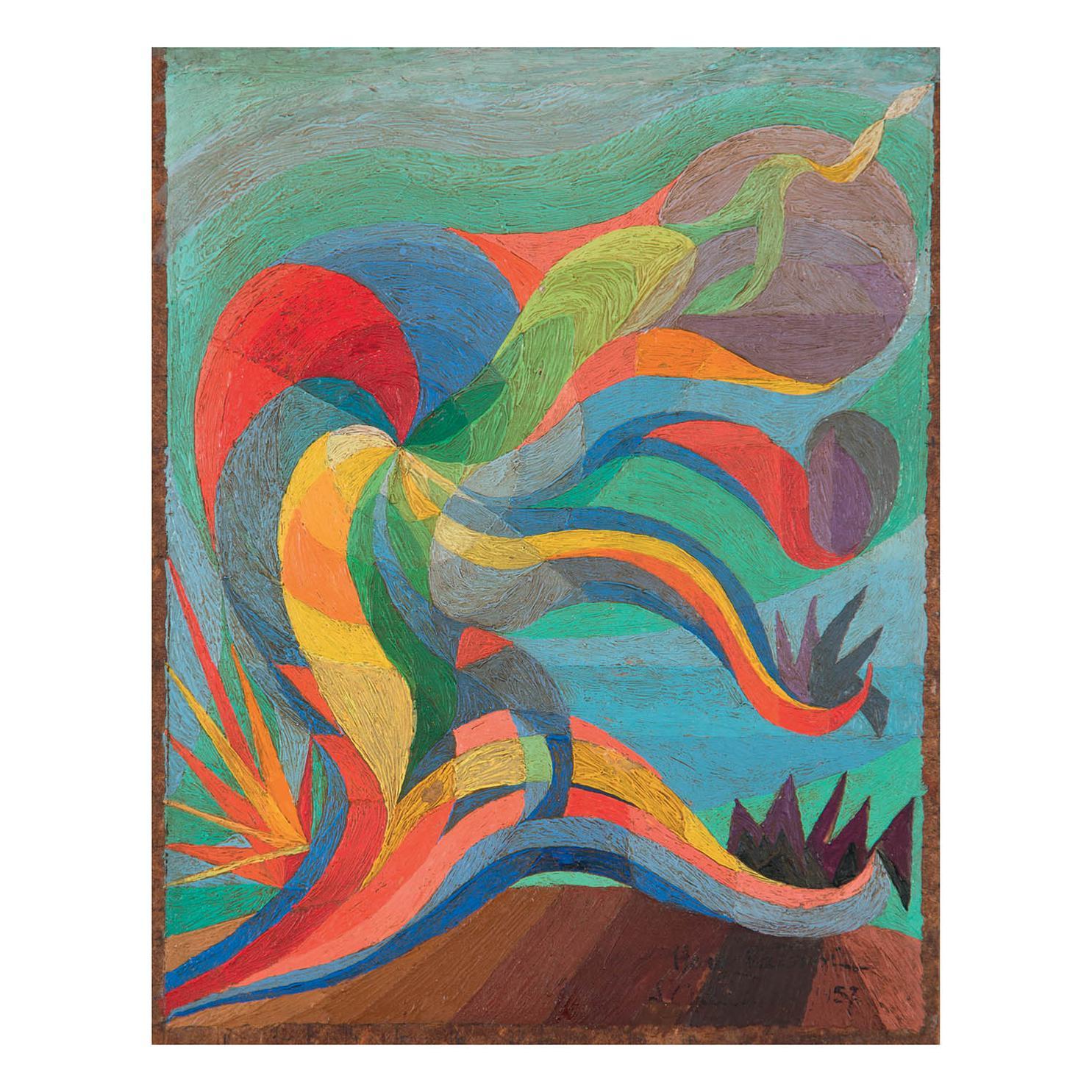 Henry Valensi-L'Altruiste, Etude-1957
