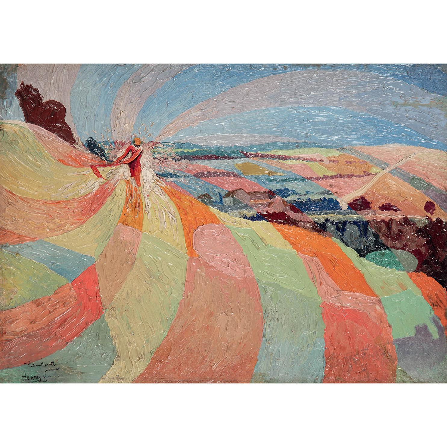 Henry Valensi-Le Faucheur-1910