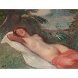 Georges d'Espagnat-Nu Allonge-1931