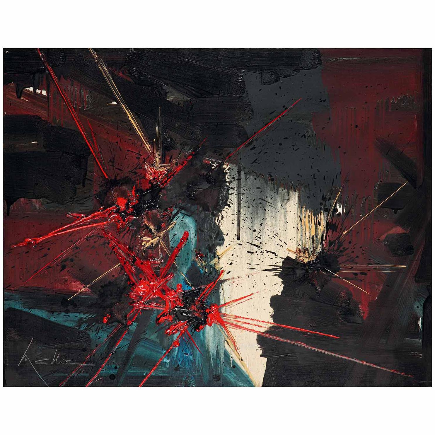 Georges Mathieu-Larmes Douces-1991